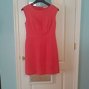 Coral casual dress